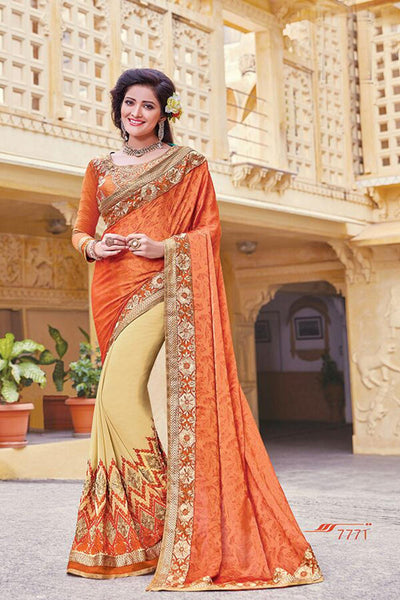 Aakruti vol 2 Multicolor  Georgette Designer worked saree,2SAKT7771