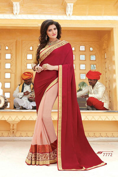 Aakruti vol 2 Multicolor  Georgette Designer worked saree,2SAKT7772