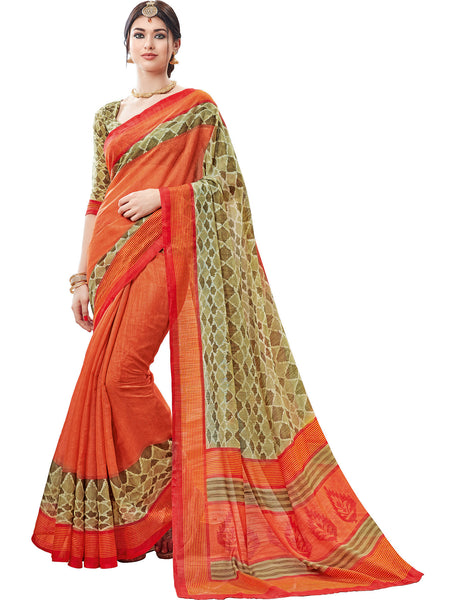 Vipul Art Silk Printed Saree, VIP31731