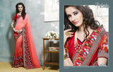 Kangna Vol 4 Multicolor  Georgette Digital Printed saree,4KGN4107