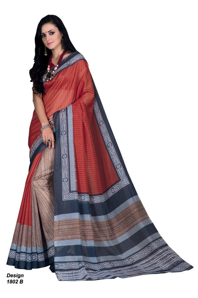 Yuvanika Red Hyderabadi Silk Designer saree,MIS1802 B_2