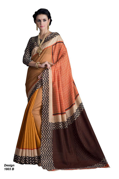 Yuvanika Yellow Hyderabadi Silk Designer saree,MIS1803 B