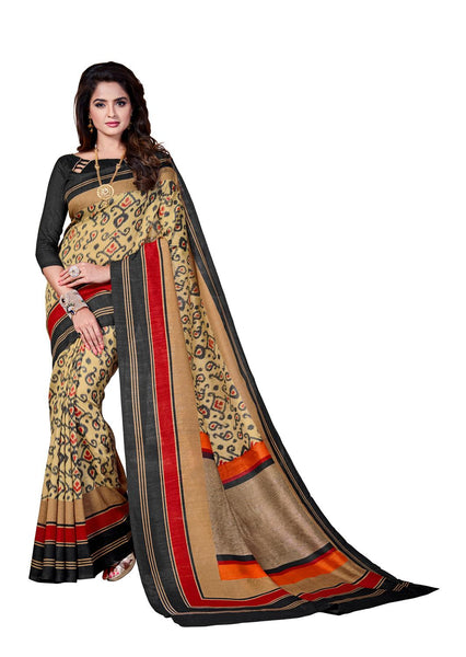 Yuvanika Multicolor Art Silk Designer Saree,SARVIM4319