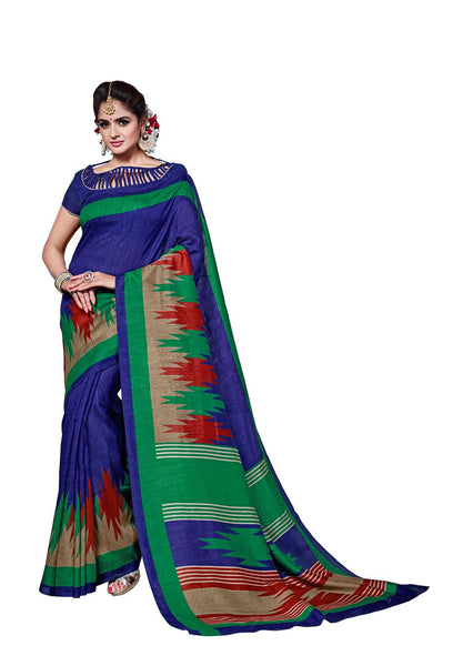 Yuvanika Multicolor Art Silk Designer Saree,SARVIM4348