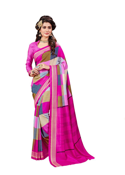 Yuvanika Multicolor Art Silk Designer Saree,SARVIM4539