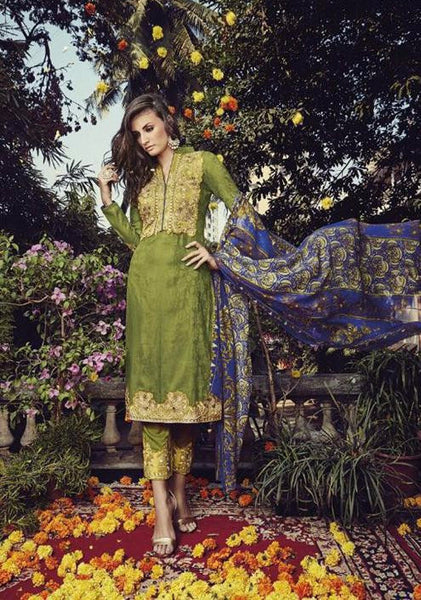 Breeze Multicolor Cotton Dress Material,BRZ15003