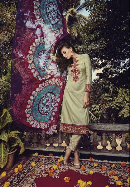 Breeze Multicolor Cotton Dress Material,BRZ15004