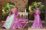 Empress Vol 1 Multicolor Satin Designer Lehenga,EMP231