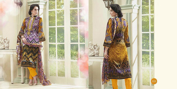 Flower Valley Multicolor Cotton Designer Salwar Kameez,FVL315