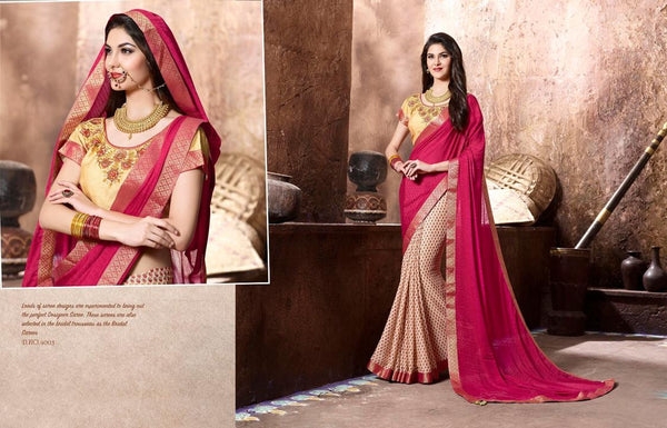 Khanak Multicolor  Georgette Digital Printed saree,KHN4003