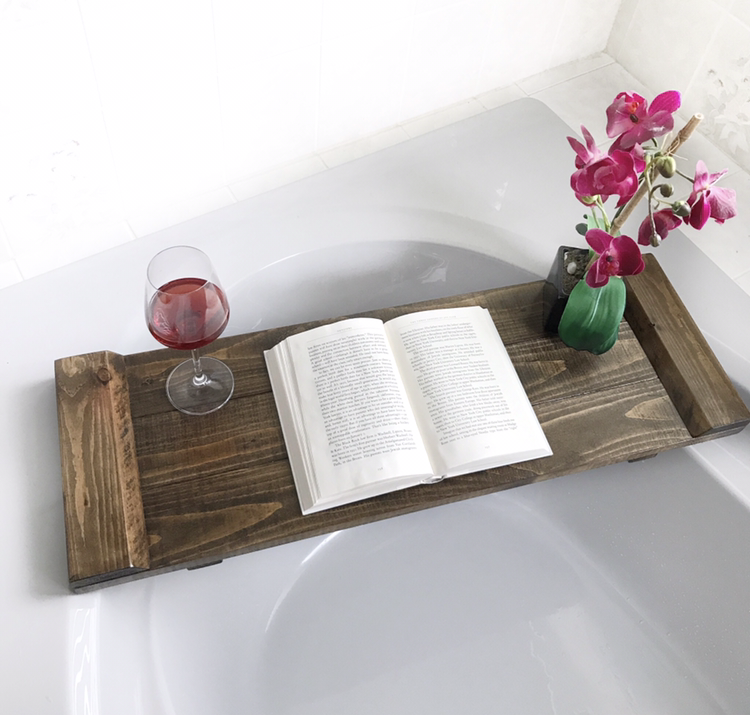Wooden Bath Tray