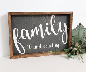 Family...and Counting {customizable}