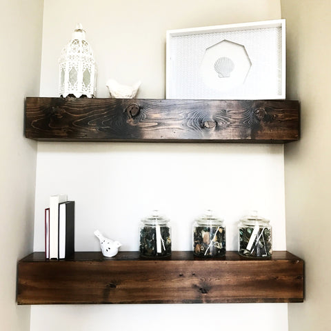 Floating Shelves {custom built // Local pick-up only}