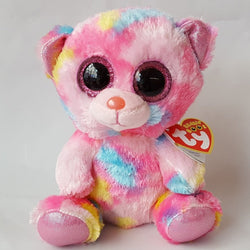 6 inch Beanie Boo  Franky Pink Multicolor Bear. 6 inch Beanie Boo  Franky  Pink Multicolor Bear. Regular price  6  6.95. Hello Kitty Bean Bag Mascot  Plush  ... e860313c77ca5