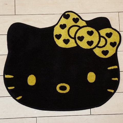 Hello Kitty Bath Rug Gold Wink Squishies Jubilee