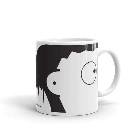 17A036PMUG - Suffer in silence picture mug