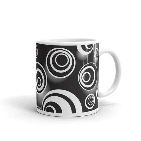 17A019PMUG - My head is spinning picture mug