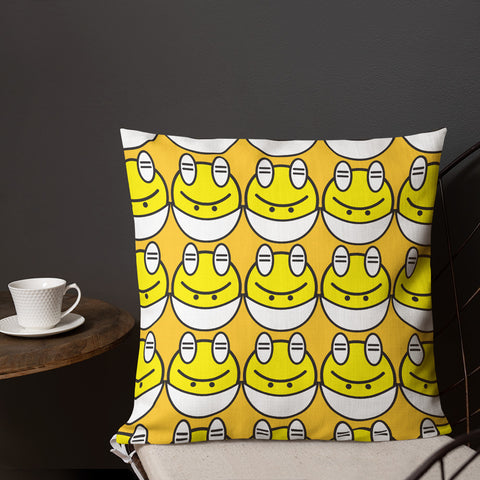 Edgy Egg Premium Pillow
