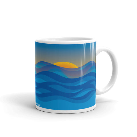17A017PMUG - Morning sun picture mug