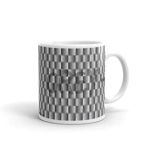 17A042PMUG - Gray or grey puzzle mug