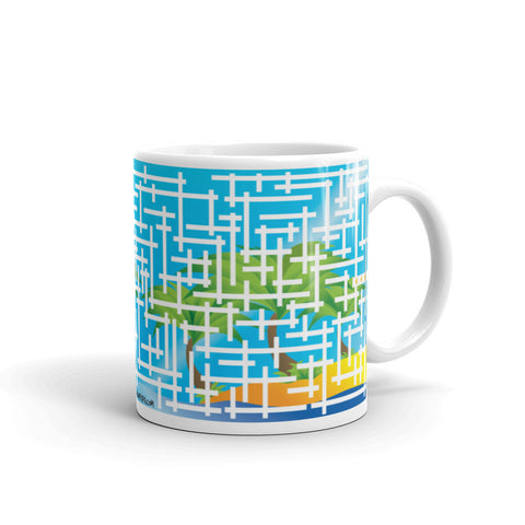 Great day puzzle mug