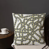 Route to you puzzle Premium Pillow