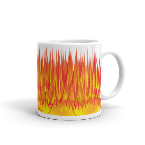 17A040PMUG - Fire up picture mug