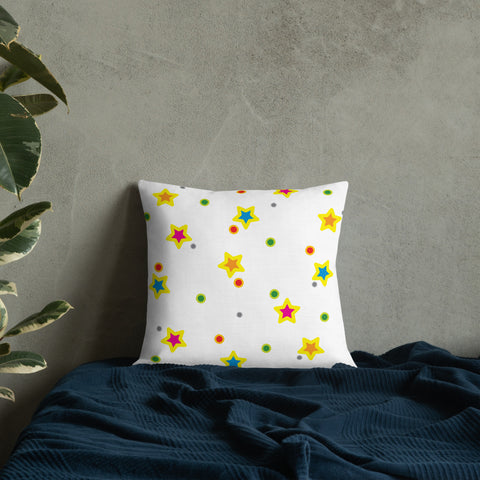 Happy Stars Premium Pillow