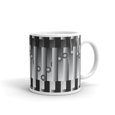 Broken pillars picture mug