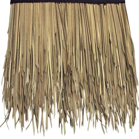 Baja Palm Artificial Thatch Umbrella Panel 1inW X 31inL x 19inH with Clips