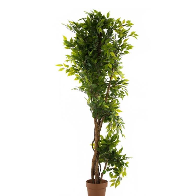 5' Mini Artificial Outdoor Uv Ficus Tree 18395