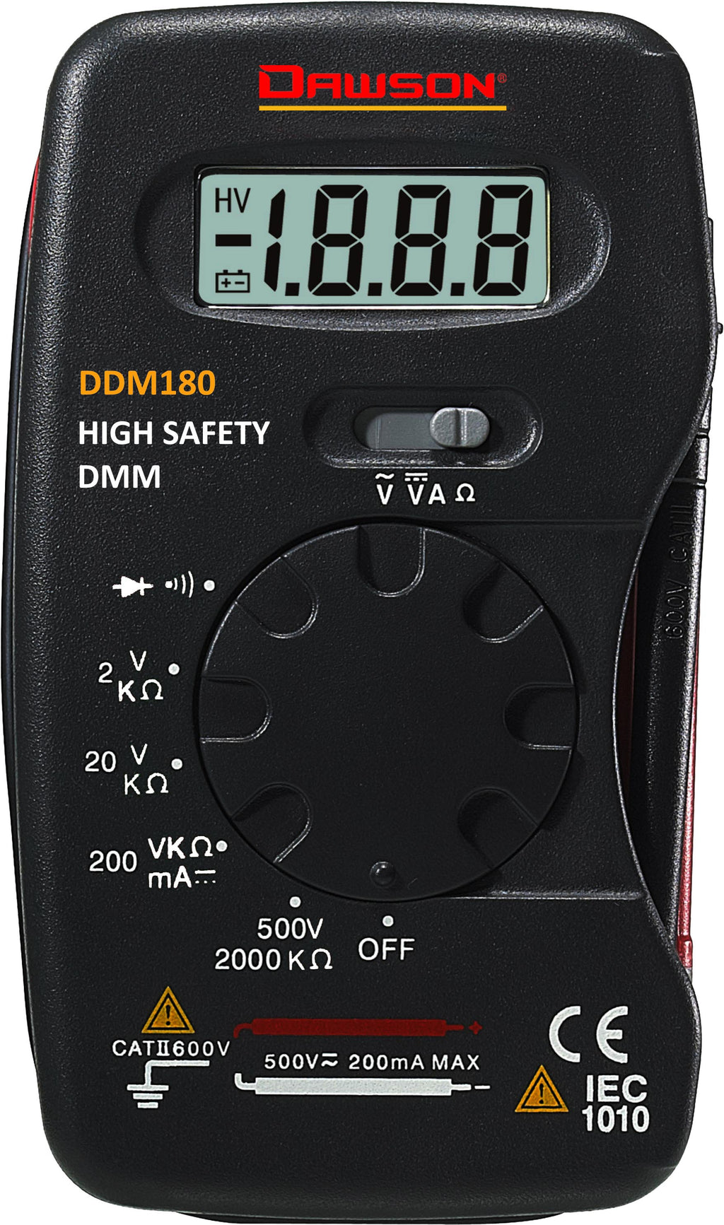 Pocket-Size Digital Multimeters - DDM180