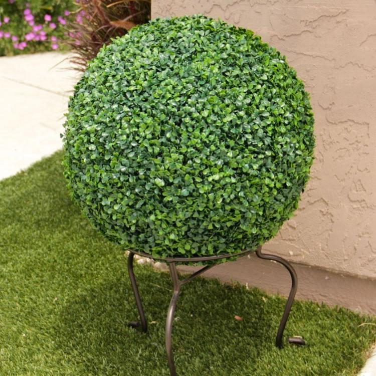 "Artificial Outdoor Boxwood Ball Uv 22"" Oball23"