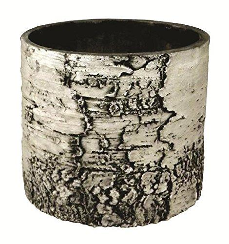 "Birch Planter_Vertical_12"", Pottery, Nature's Innovations, [shop_ Direct Lighting Outdoor Lifestyle]"