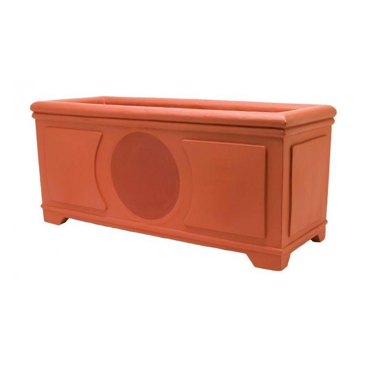 High Performance Planter Box Loudspeaker 6-in 2-Way-Terracotta