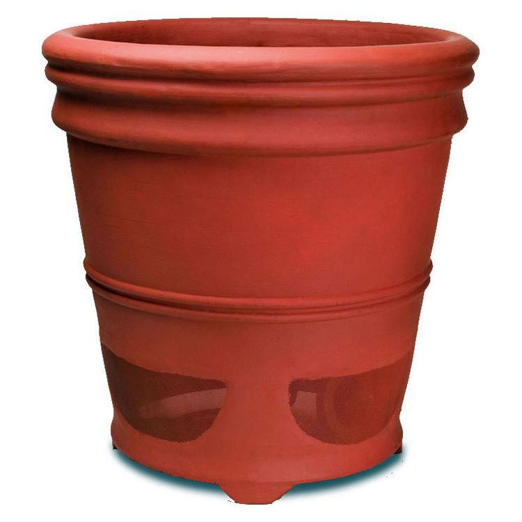High Performance Planter Loudspeaker 6-in 2-Way-Terracotta