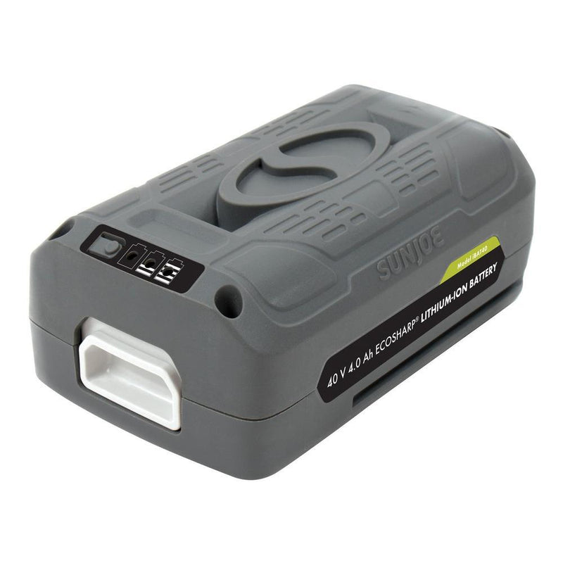 40 V Lithium-Ion Battery, , Sun / Snow Joe, [shop_ Direct Lighting Outdoor Lifestyle]