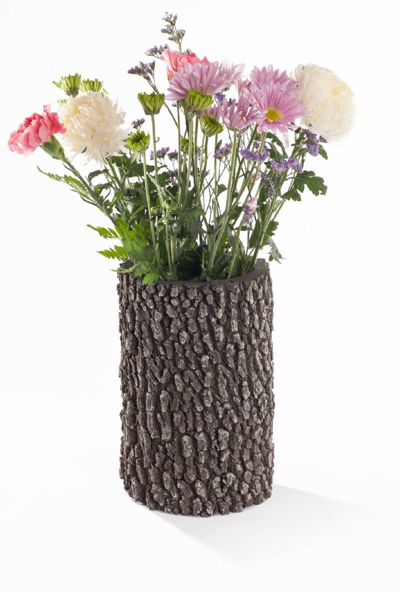 Vertical Oak and Birch Planters