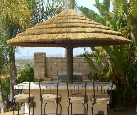 Africa Thatch Reed Umbrella Kit 9ft