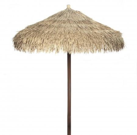 Complete Umbrella made from Artificial Thatch Viro Java Palm