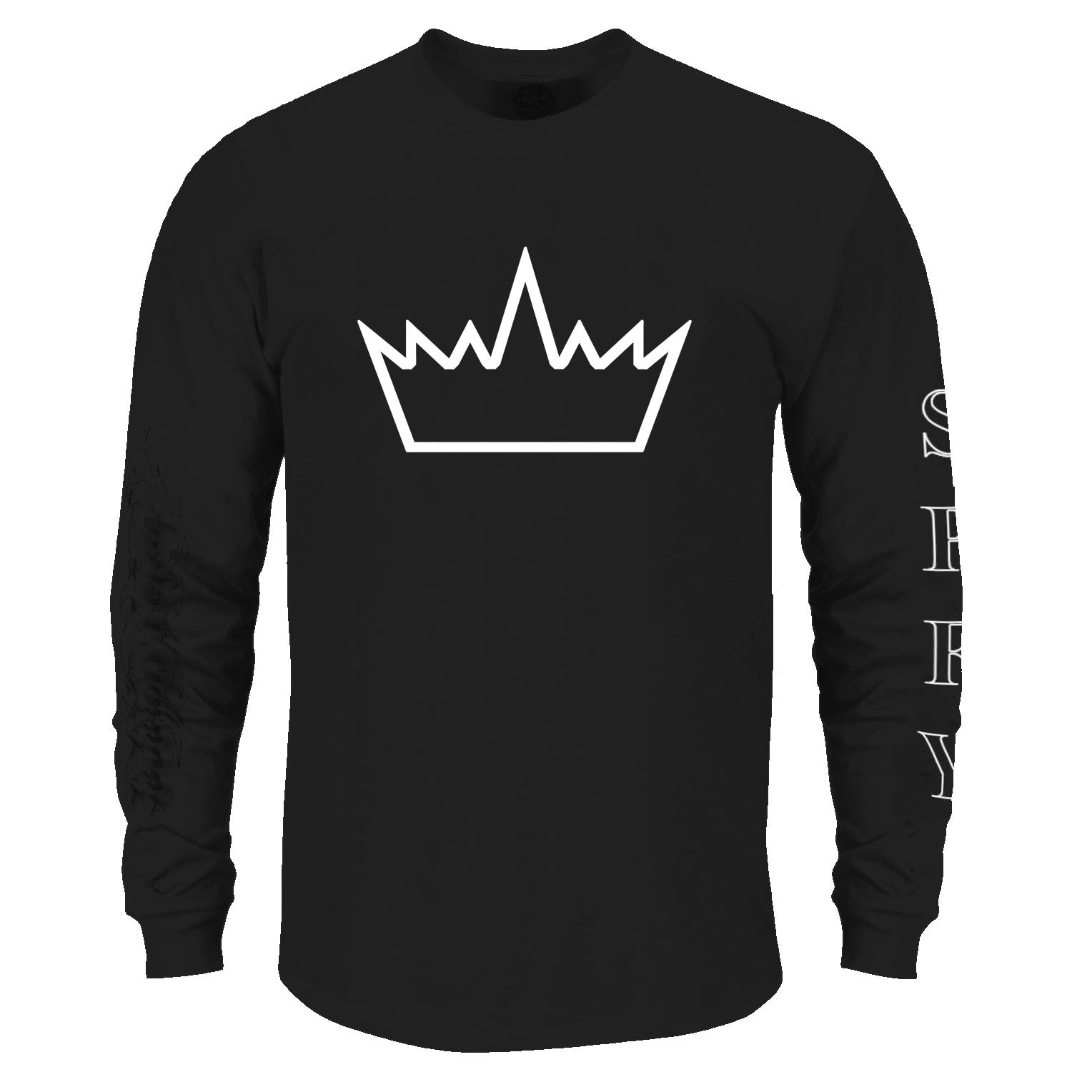 Crown Me Long Sleeve Shirt