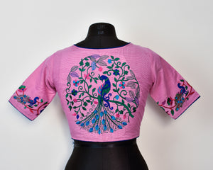 Embroidered Blouse ~ Pink