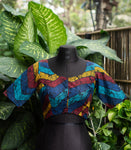 Multi-Colour Print Blouse