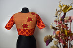 APPLIQUE Blouses ~ Peach & orange