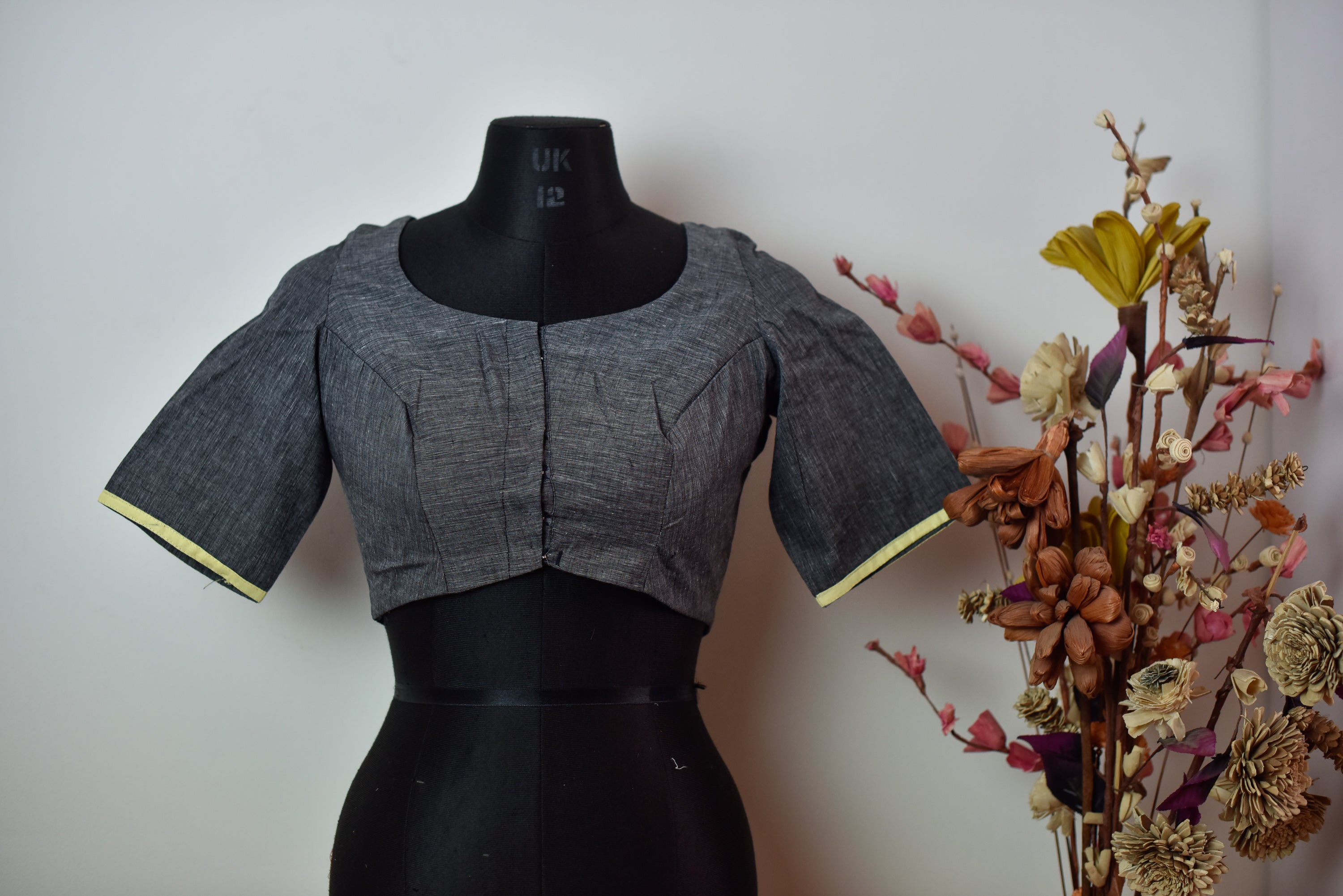 APSARA Blouse ~ Grey
