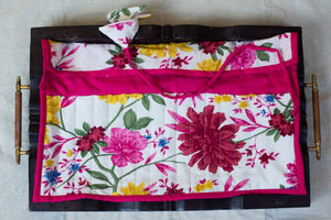 Fuchsia Pink Pencil Pouch