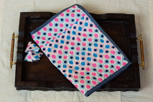 Pink & Blue Pencil Pouch