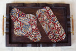 Brown Kalamkari Cloth Pad 2