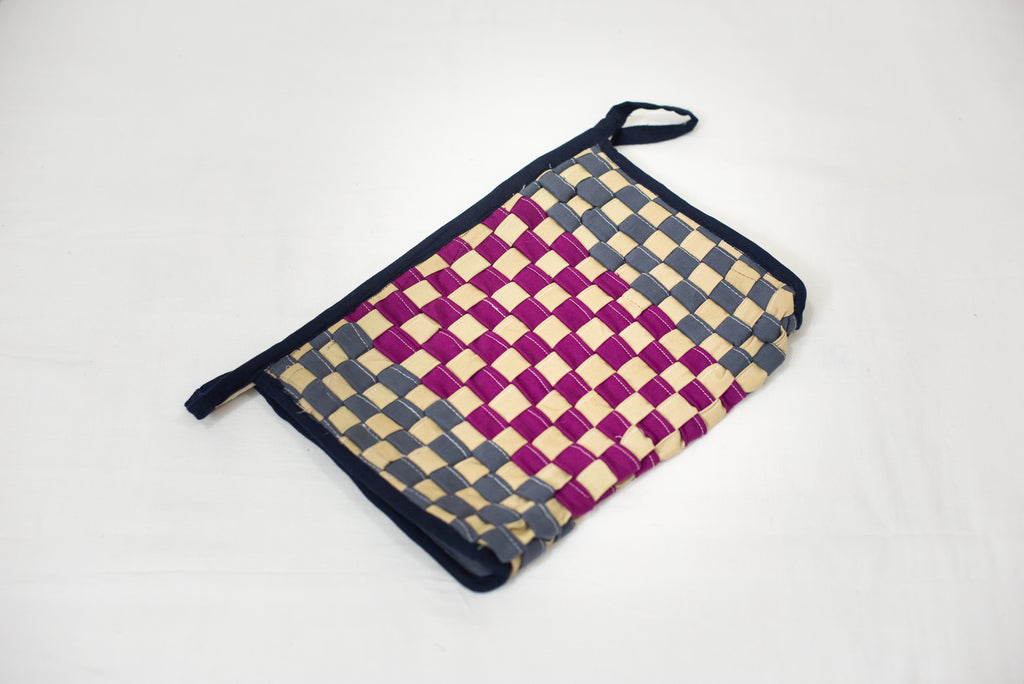 Grey & Pink Toiletry Pouch