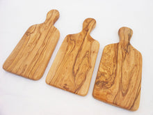 Engraved Olive Wood Rustic Cheese Cutting Board Set / Wooden Chopping Board 9.8 X 4.3 inches, Wedding Gift